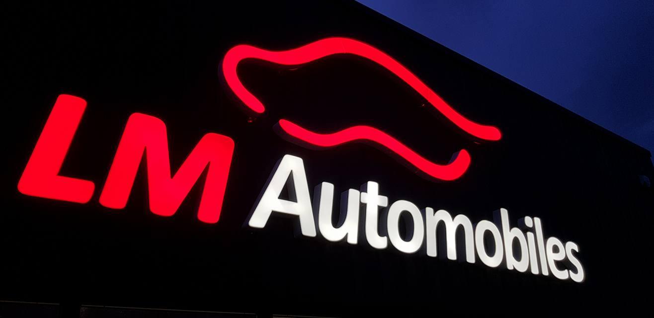 Enseigne LM Auto